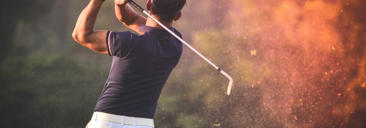 Golftraining mit einem Personal Trainer